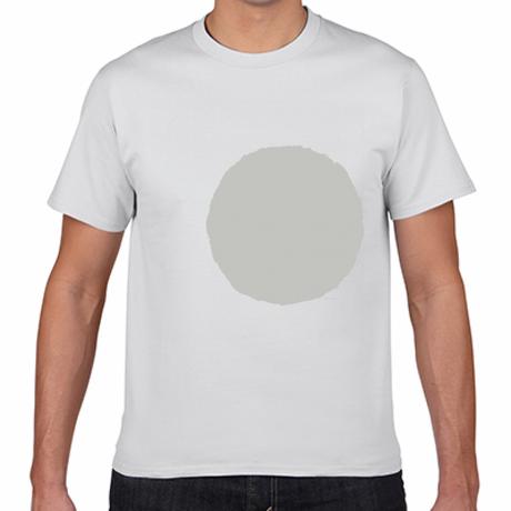 デカドットTシャツ(シルバー)