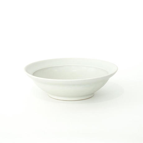 [Luft]Erde Shallow Bowl(白マット)