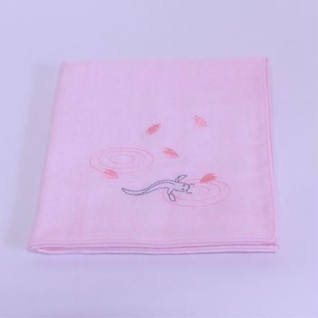 なまずハンカチ ~桜~