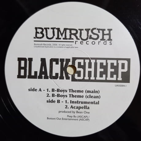 Black Sheep / B-Boy Theme (12inch)