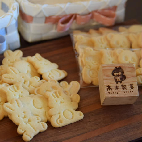 どうぶつクッキー(5枚入り)