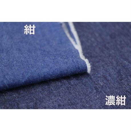 【軽くて柔らかいデニム】fanageコットン100% 5オンスデニム生地/10cm