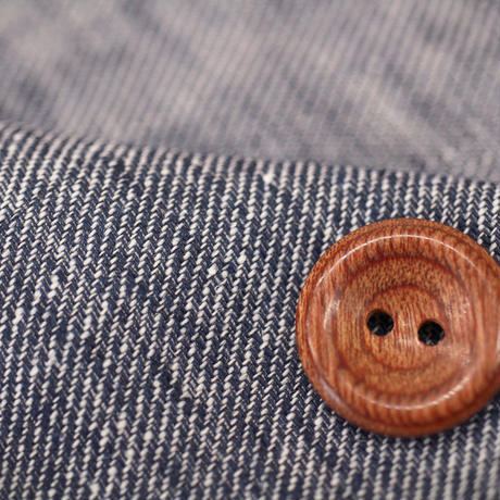リネン55%コットン45% シャンブレーツイル綾織り生地 1331