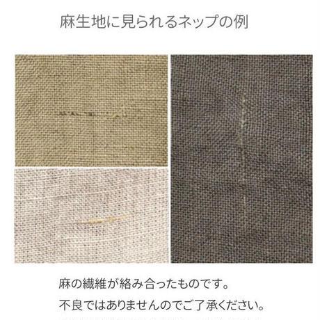 【ストライプ帆布】 fanage リネン70%コットン30% 30番手キャンバス ストライプ生地/10cm (1358)