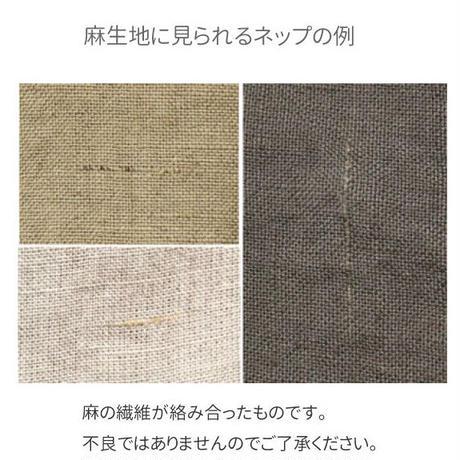 【定番36色/No.1】fanage リネン100% 60番手 平織り生地/10cm (TL6000)