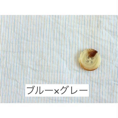 2色ストライプ生地 50番手(m0035/0036) [10cm単位]