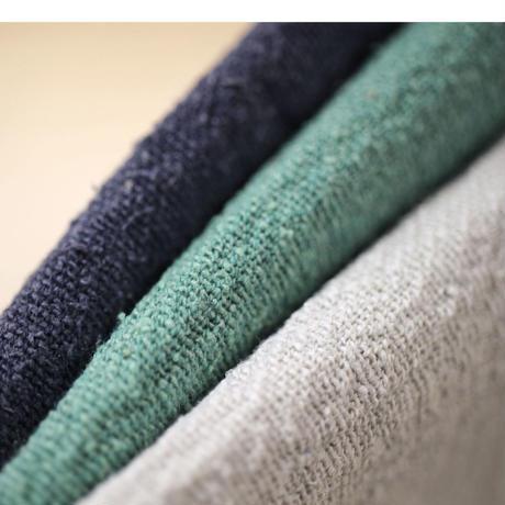 【2重織り】 fanage 表コットン75%シルク25%  シルク混 、裏コットン100%ガーゼ生地/10cm (na1522)