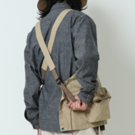 【送料無料】GYPSY&SONS 2019SS collection!【VENTILE EQUIPMENT VEST】 COLOR:KHAKI