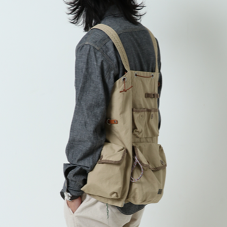 【送料無料】GYPSY&SONS 2019SS collection!【VENTILE EQUIPMENT VEST】COLOR:BLACK