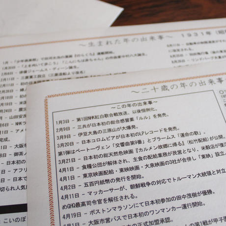 【長寿祝】 銘仙判京座布団 古希祝い用