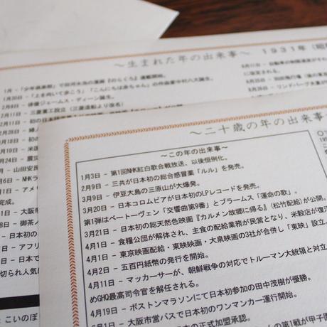 【長寿祝】 銘仙判京座布団 米寿祝い用
