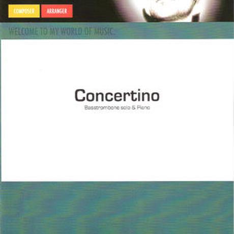 """★item113 スティーヴン・フェルヘルスト """"バストロンボーンのためのコンチェルティーノ"""" ピアノ伴奏版"""