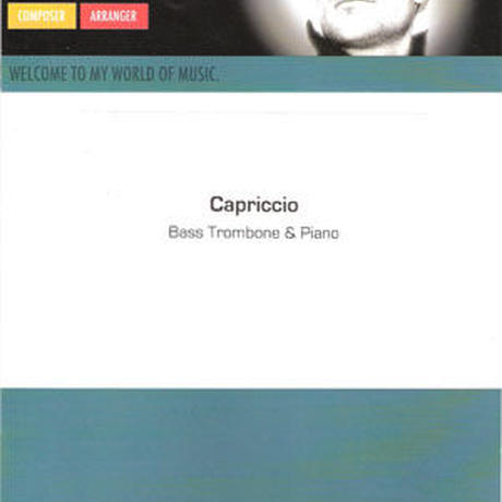 "★item093 スティーヴン・フェルヘルスト ""カプリツィオ""ピアノ伴奏版"