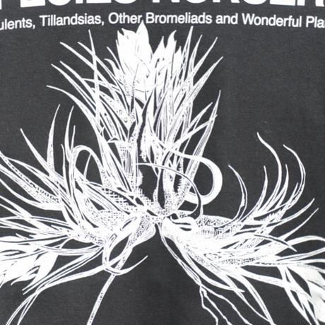 SPECIES NURSERY Tシャツ ティランジア カウツキーバージョン BW