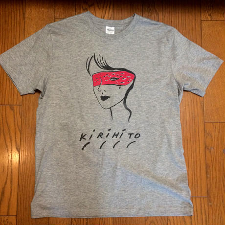 KIRIHITO TEE-37A ver. grey(K-WOMAN) NEW!!!