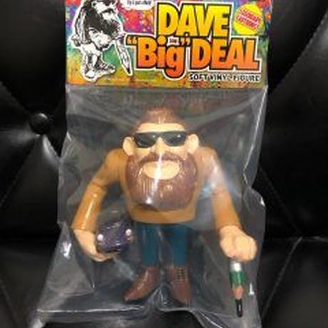 """Dave Deal ソフビ着色版 """"バタースコッチ"""""""