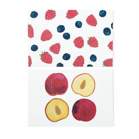 フルーツ ポストカード 5枚セット