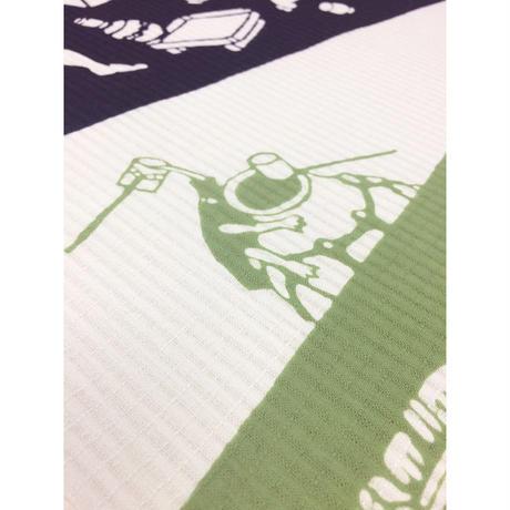 注染ゆかた・着尺反物「台所妖怪2017」小倉染色図案工房
