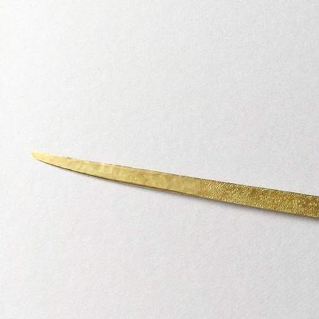 【数量限定セット】菓子切り「陽光」 (真鍮、鞘・桐箱入り)小邦智美