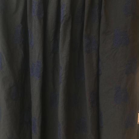 【1点もの】エンブロイダリースカート〔DogTerrierテリア犬〕