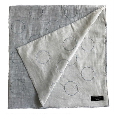 circle embroidery  stole