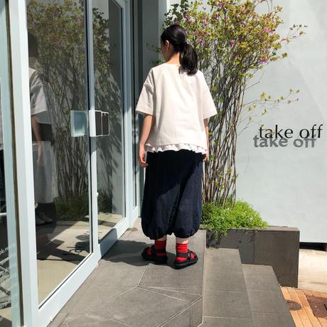 【Designblouseストライプコットン no.116】