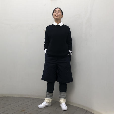 ひざ丈パンツ コットンタッチストレッチ(no.641)