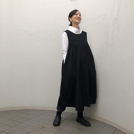 黒ギャバジャンパースート(high quality Gabardine / no.444)