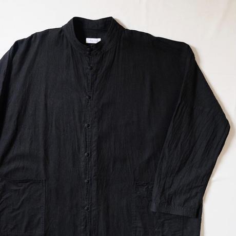 ロングコート(黒)/Men's
