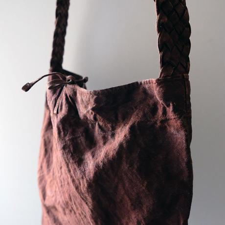 編み手ショルダー/柿渋