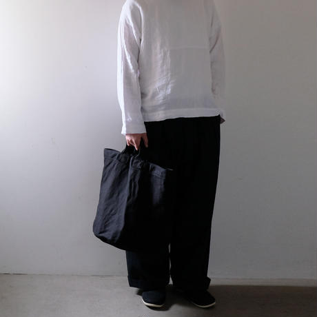 丸底トート大/黒