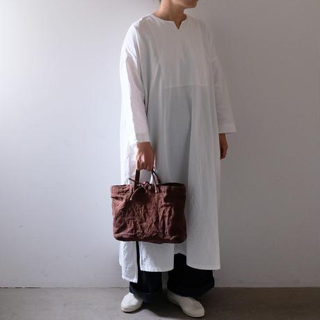 横長トート/柿渋