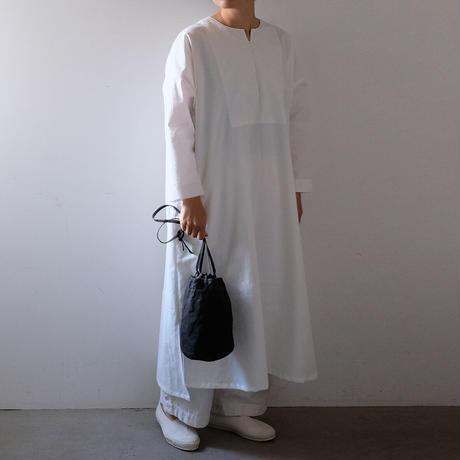 巾着ショルダー/柿渋 黒