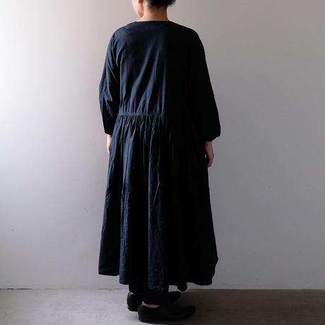 ギャザーカシュクール(黒)/Lady's