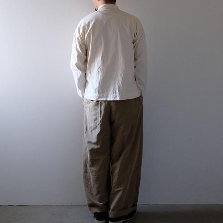スタンドカラートップス(きなり・すっきり)/Men's