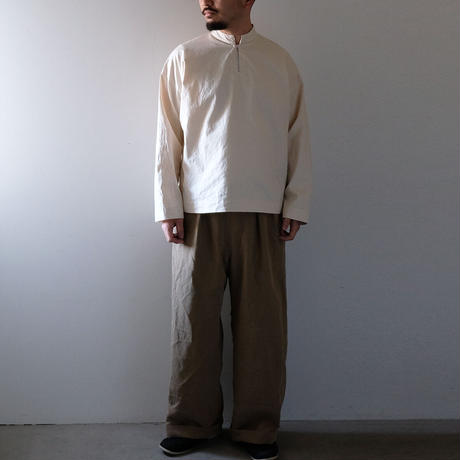 スタンドカラートップス(きなり・たっぷり)/Men's