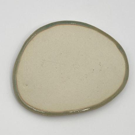 伊藤千穂 緑青菓子皿