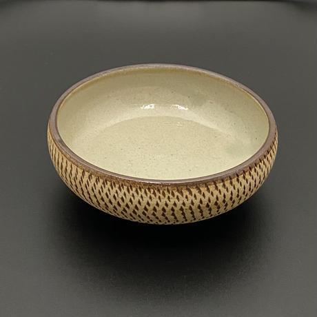 とびかんな紋丸鉢 4寸