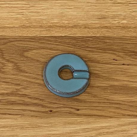 リング箸置 青