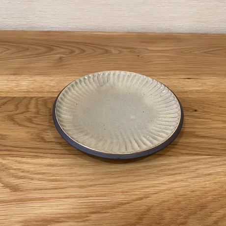 しのぎ5寸皿