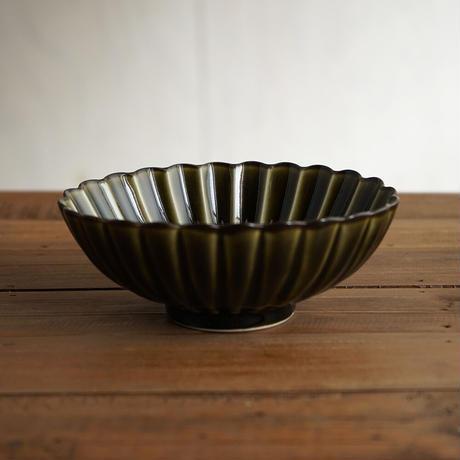 ぎやまん陶〜楕円鉢〜 利休グリーン