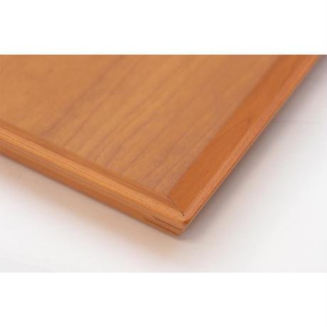 木製長角トレーM ブラックウォールナット