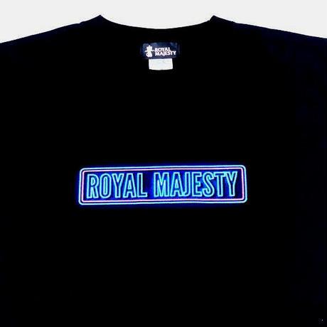 ROYAL MAJESTY  Tシャツ【ネオンロゴ 】