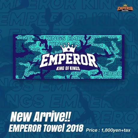 EMPEROR フェイスタオル 2018