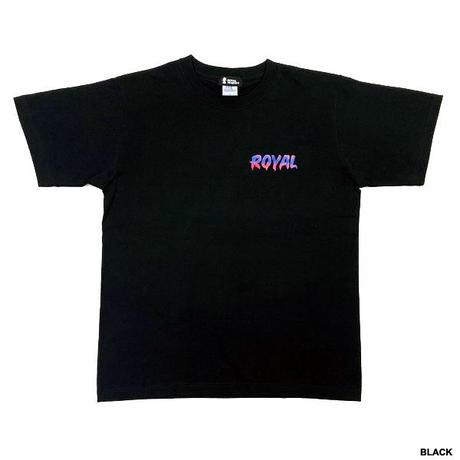 ROYAL MAJESTY  Tシャツ【ペイント-ブラック】