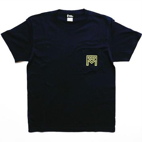 ROYAL MAJESTY ポケットTシャツ [ネイビー]