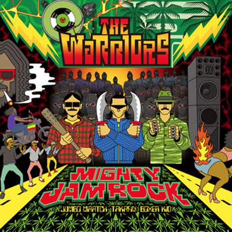 MIGHTY JAM ROCK-[JUMBO MAATCH, TAKAFIN, BOXER KID / THE WARRIORS]