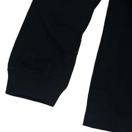ROYAL MAJESTY ペイント ロングTシャツ [ブラック]