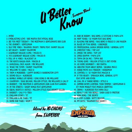 EMPEROR -【U BETTER KNOW】