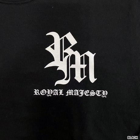 ROYAL MAJESTY -【CROSS ON SLEEVE RIB ロングスリーブTシャツ - SAND】